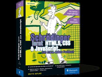 Schrödinger lernt HTML5, CSS und JavaScript
