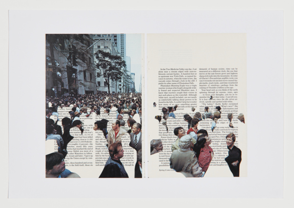 Social distancing collage