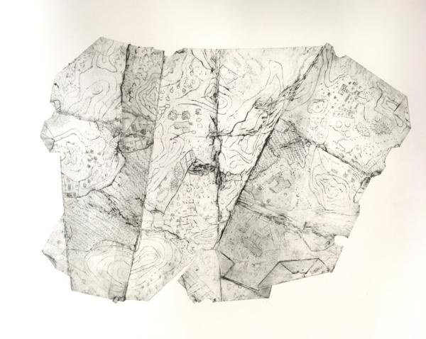 Folds in a Landscape 3 (2020)
