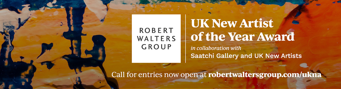 The Robert Walters Group UK New Artist of the Year Award in collaboration with Saatchi Gallery and UK New Artists. Call for entries now open at https://robertwaltersgroup.com/ukna