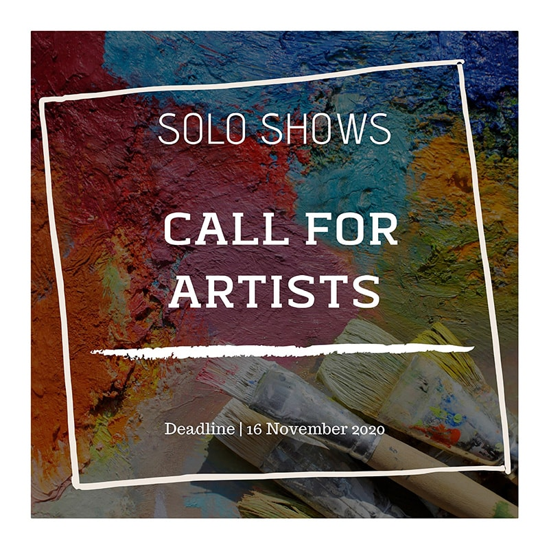 Boomer Gallery - Solo Shows - International Open Call - Deadline 16th November 2020