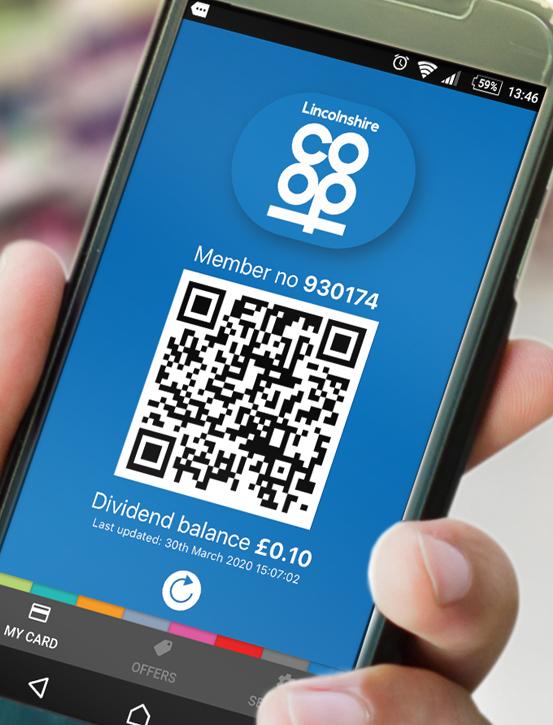Lincolnshire Co-op Dividend App main