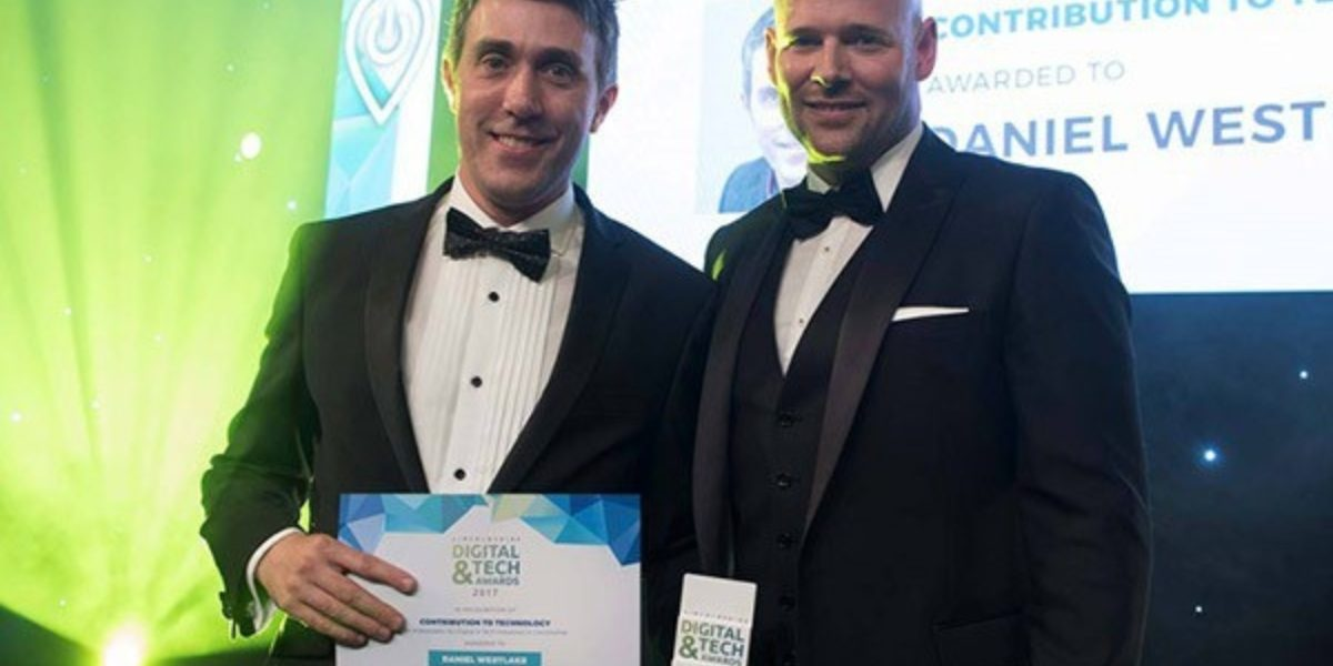 Daniel westlake wins special contribution to technology award