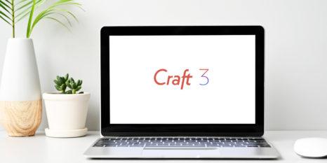Craft 3 laptop