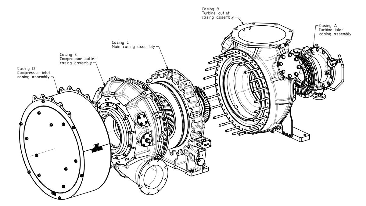Client napier parts diagram