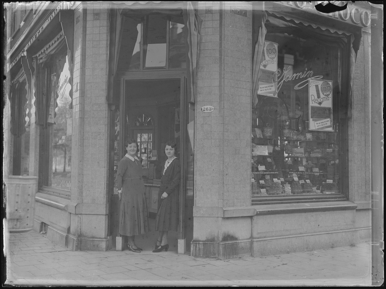 1931 Winkel C Jamin hoek nieuwe binnenweg claes de vrieselaan