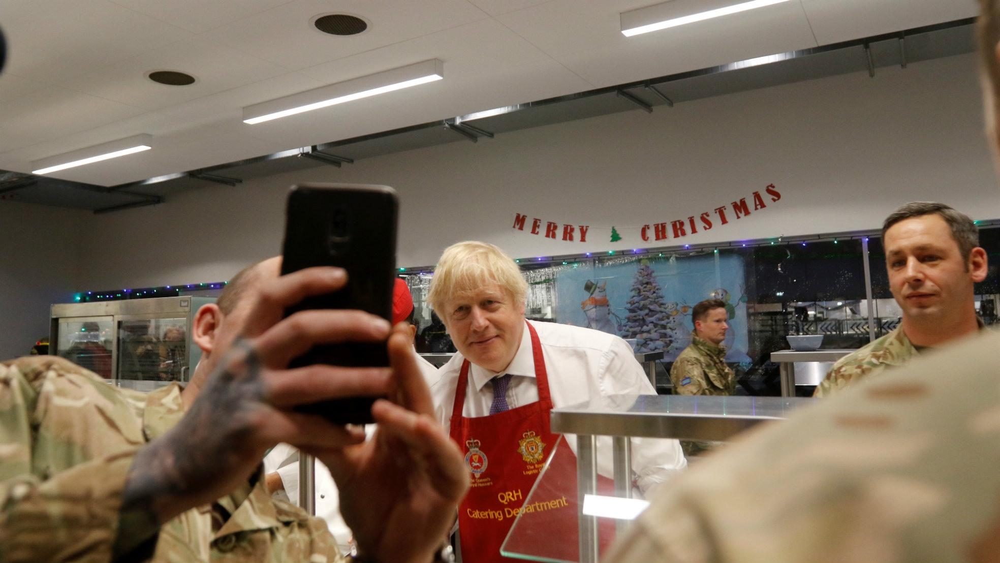 Boris Johnson Estland