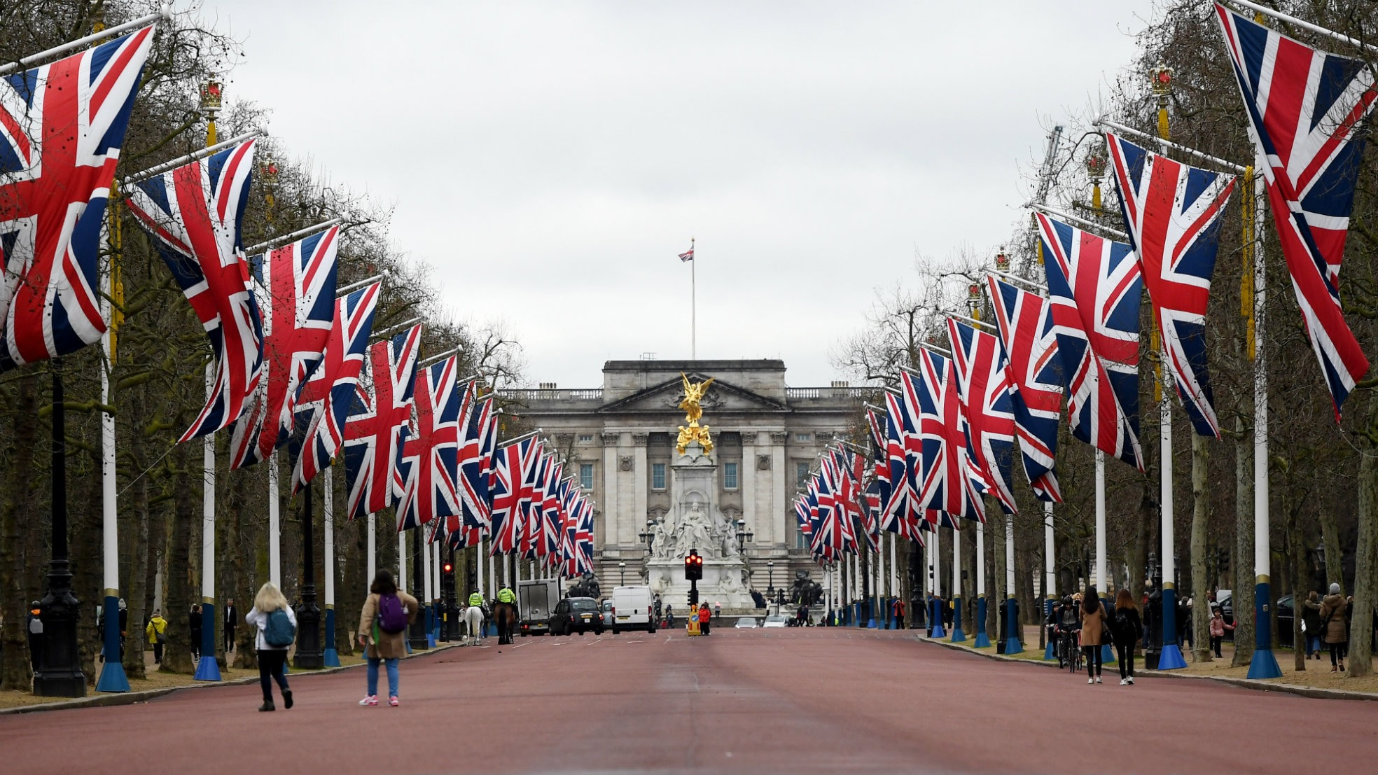 Brexit Day Buckingham Palace