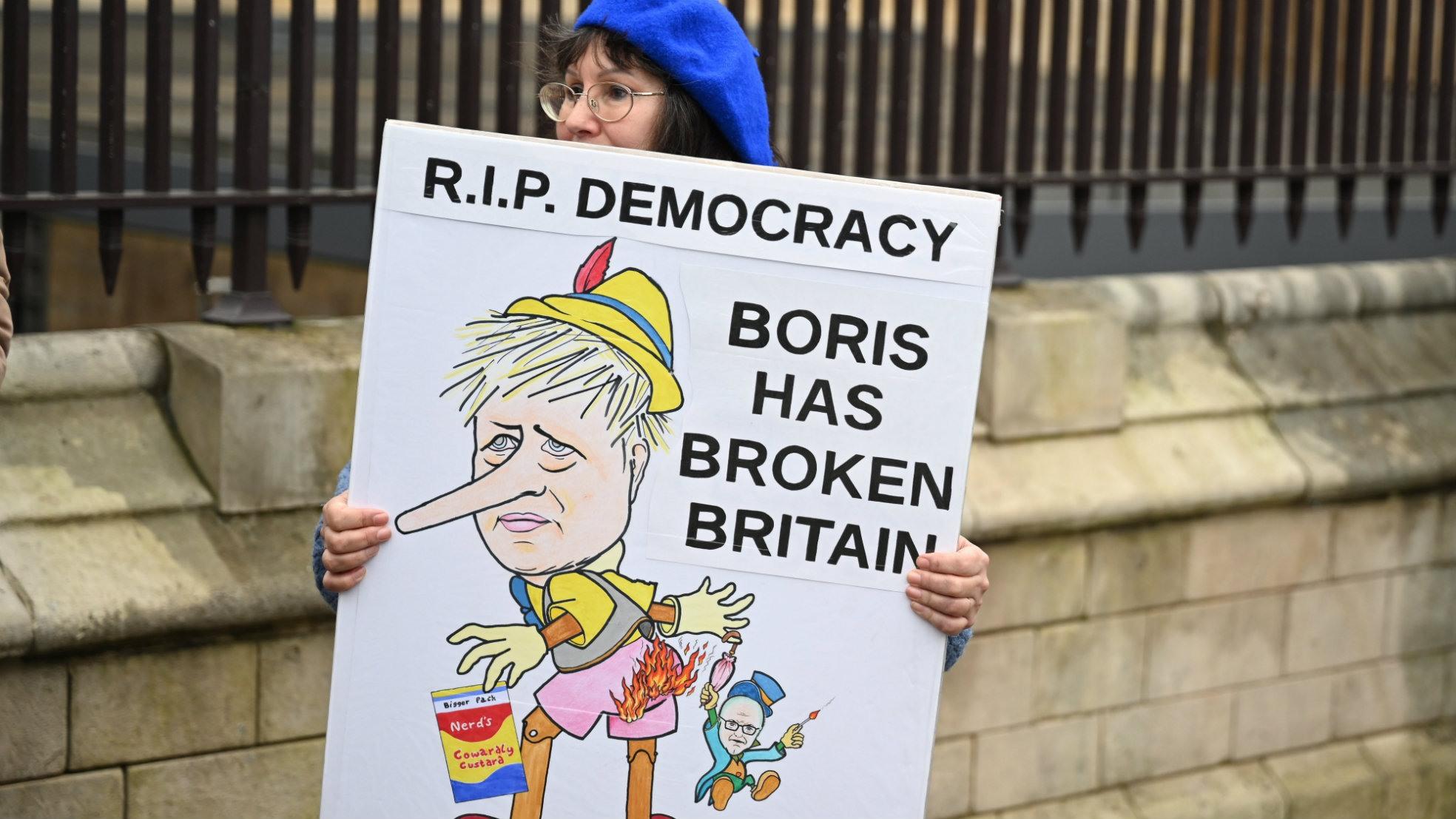 Brexit Day Johnson