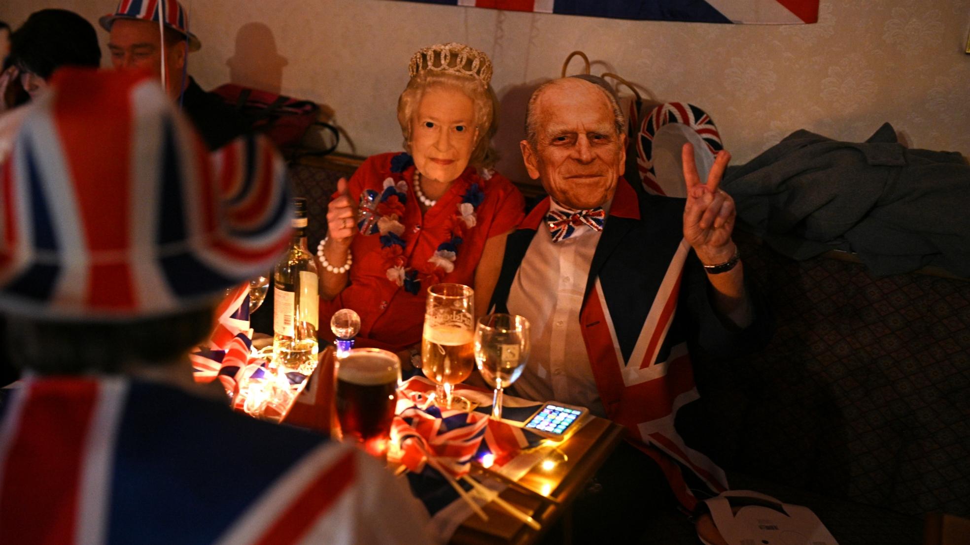 Brexit Day koningspaar