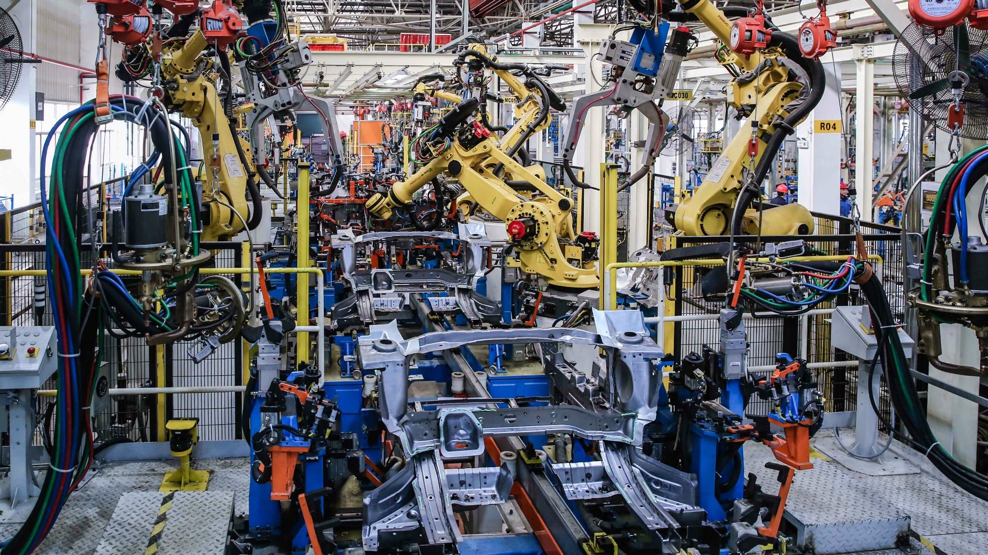 China auto Maxus fabriek