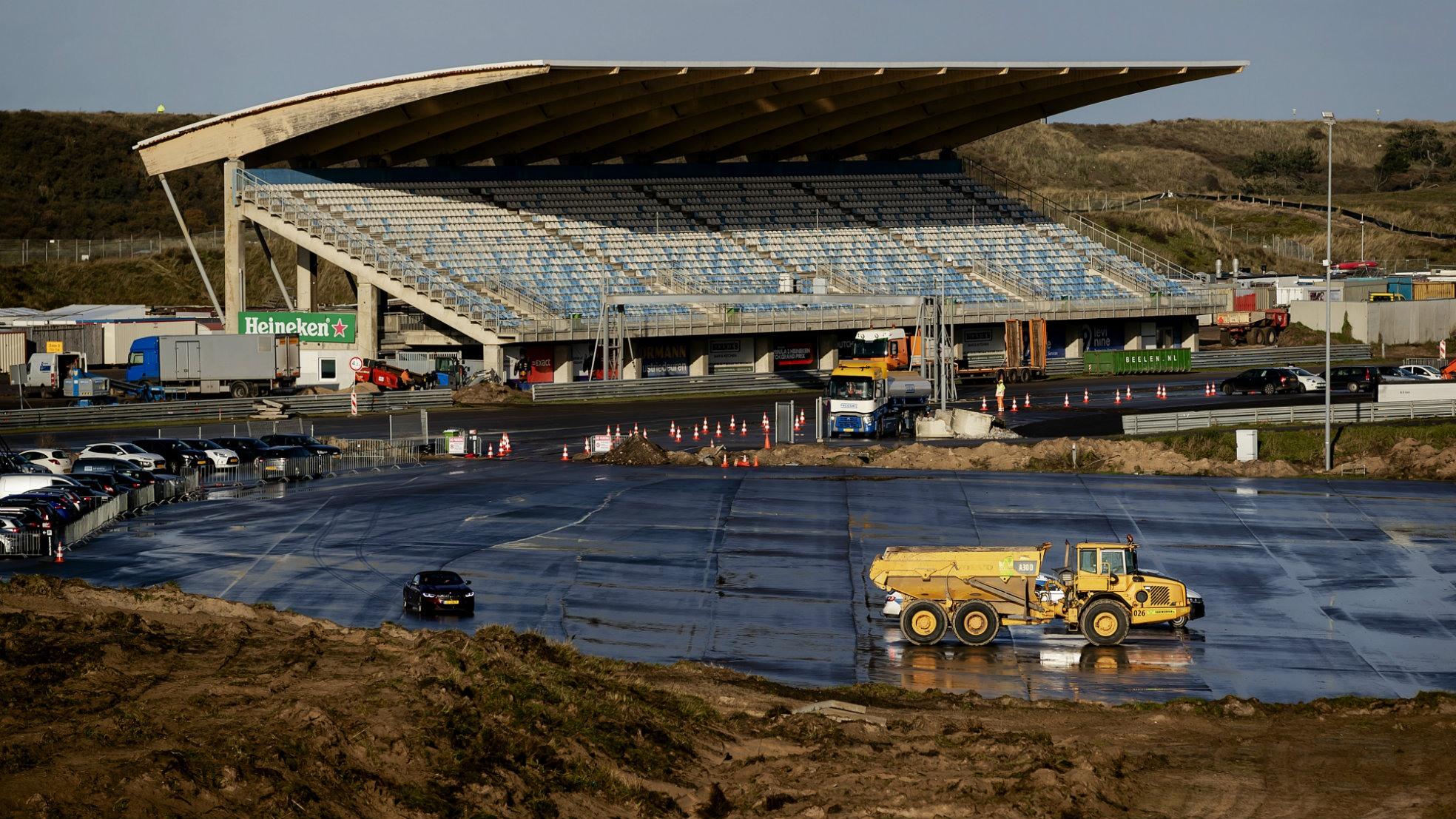 Circuit Zandvoort hoofdtribune