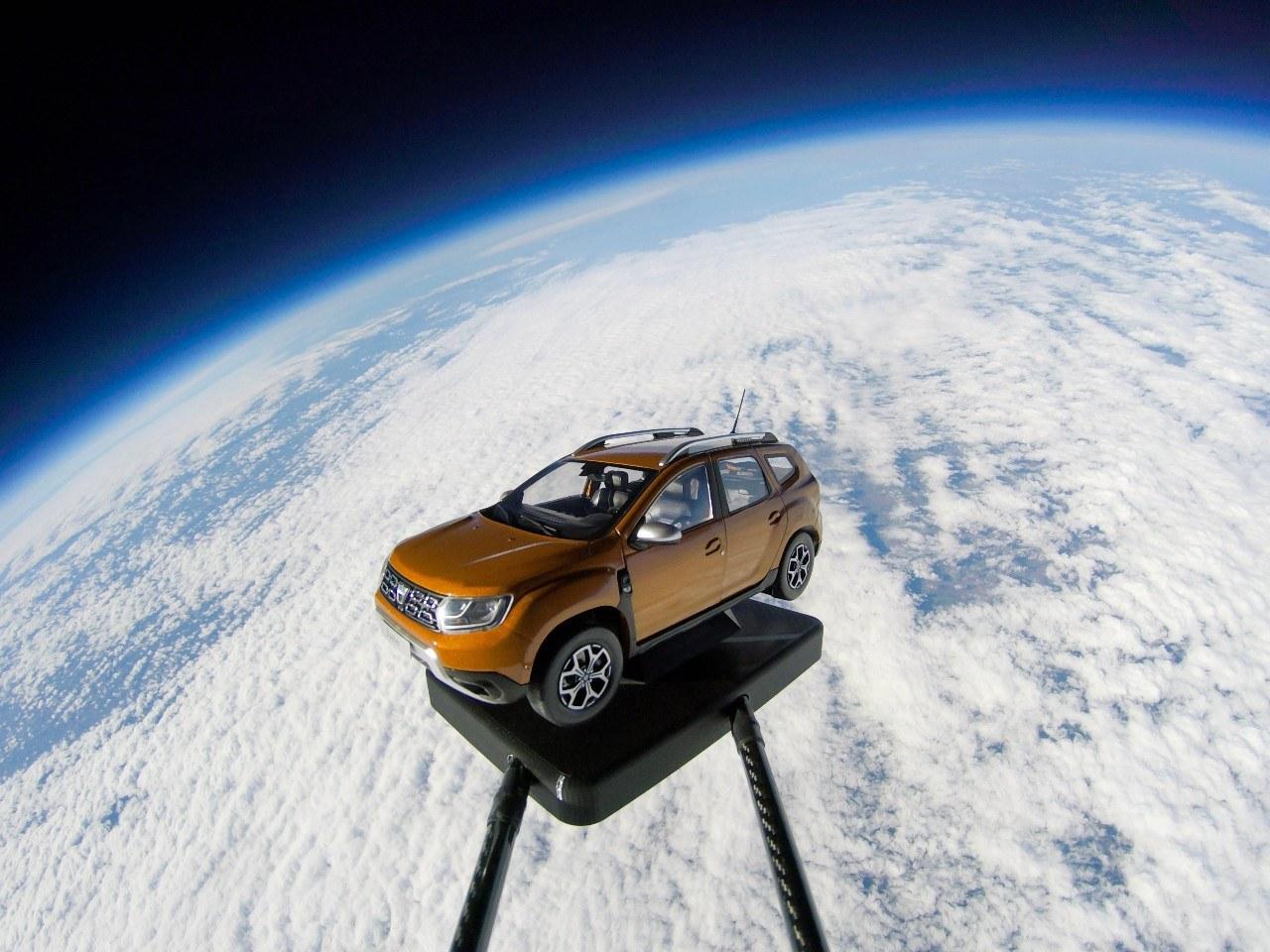 Rondje ruimte in een Dacia