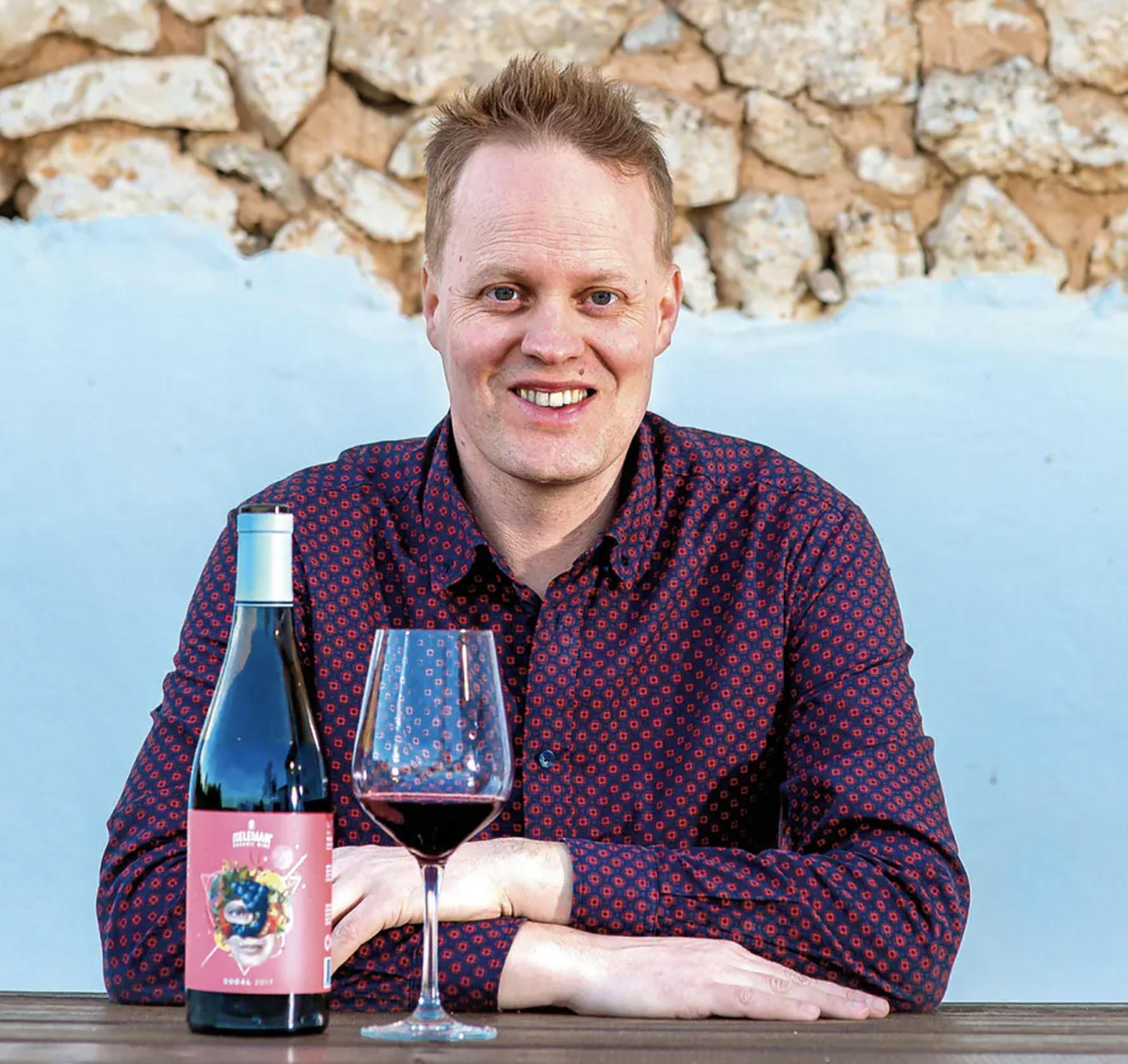 Derrick Neleman wijn portret
