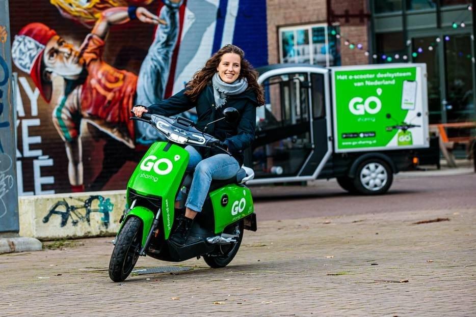 Elektrische scooters veroveren Nederland