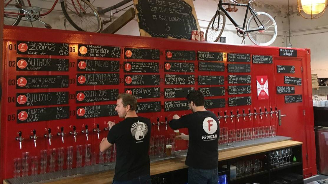 Frontaal Brouwerij Bier Crowdfunding Paul Verlinden