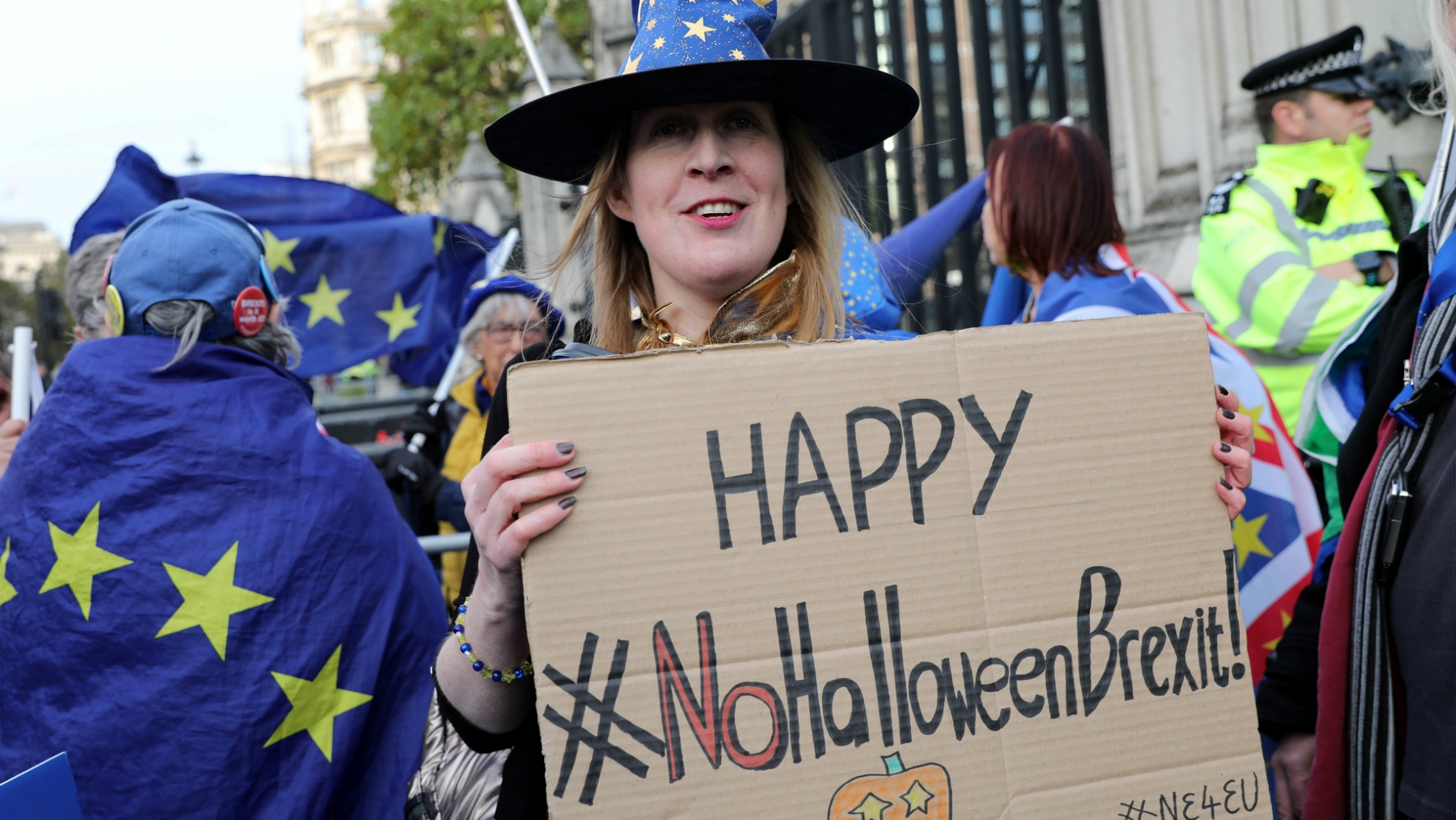 Happy No Holloween Brexit