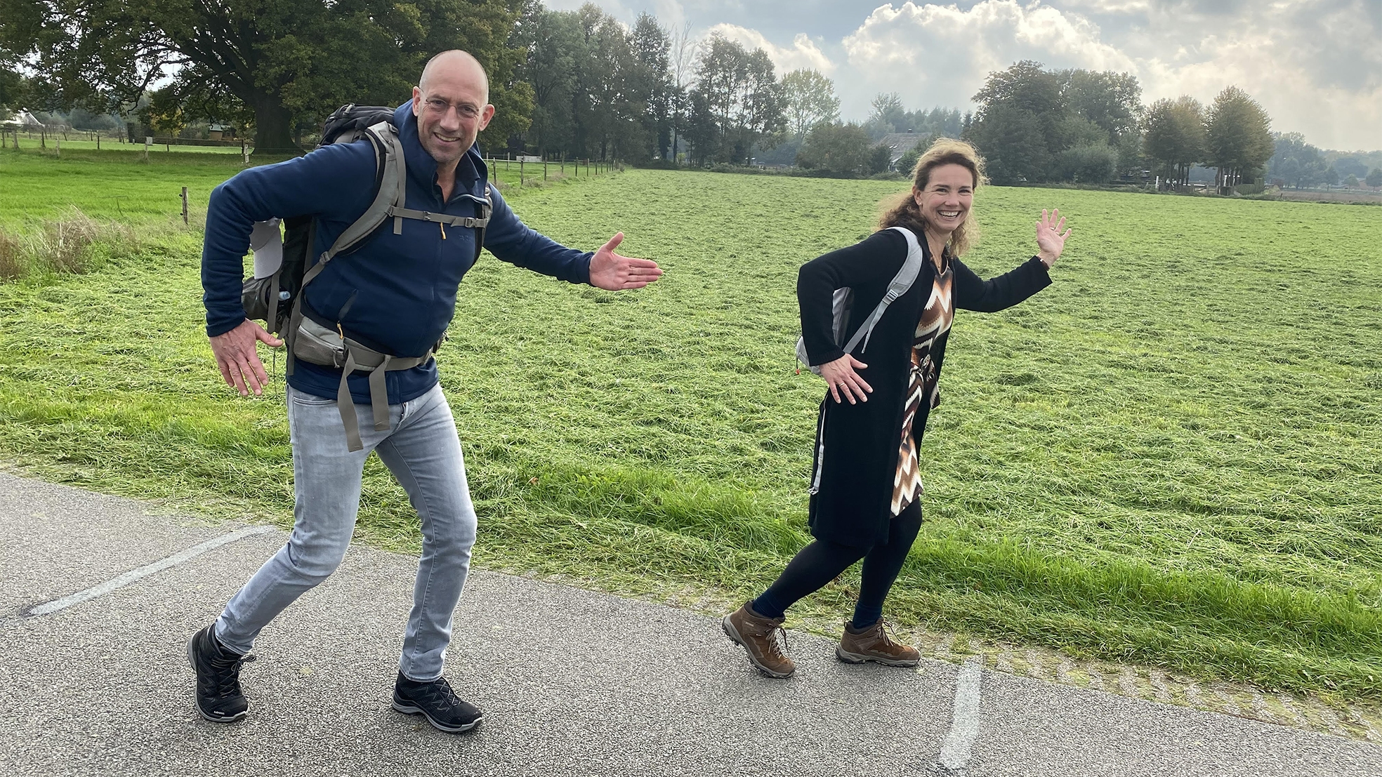 Horeca Beweging Bert wandelen