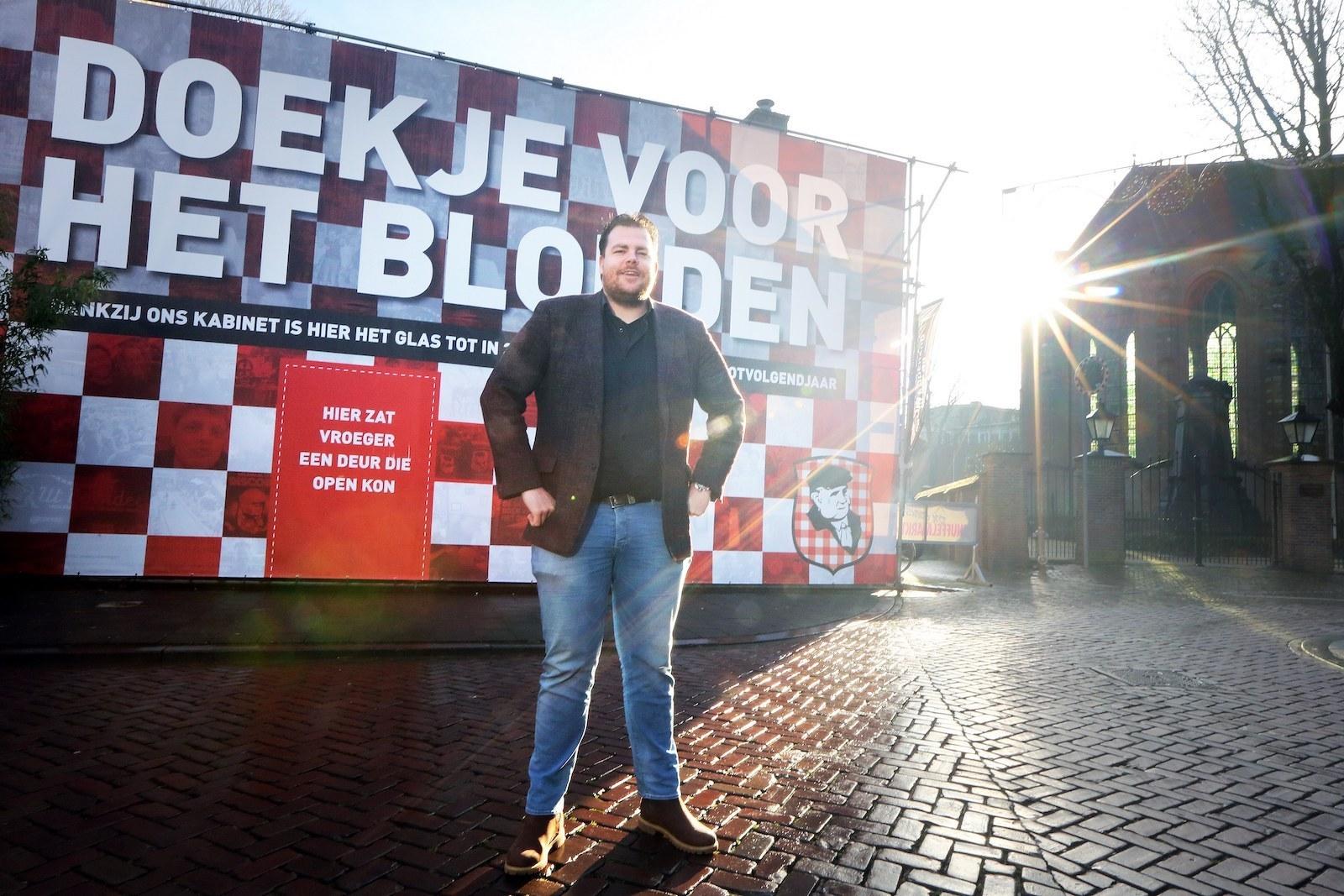 Johan de Vos horeca protestactie corona maatregelen lockdown Rutte