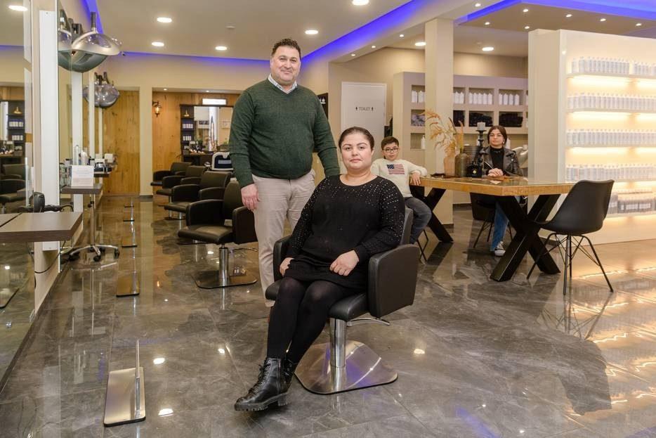 Kappers Safin en Lana foto 2