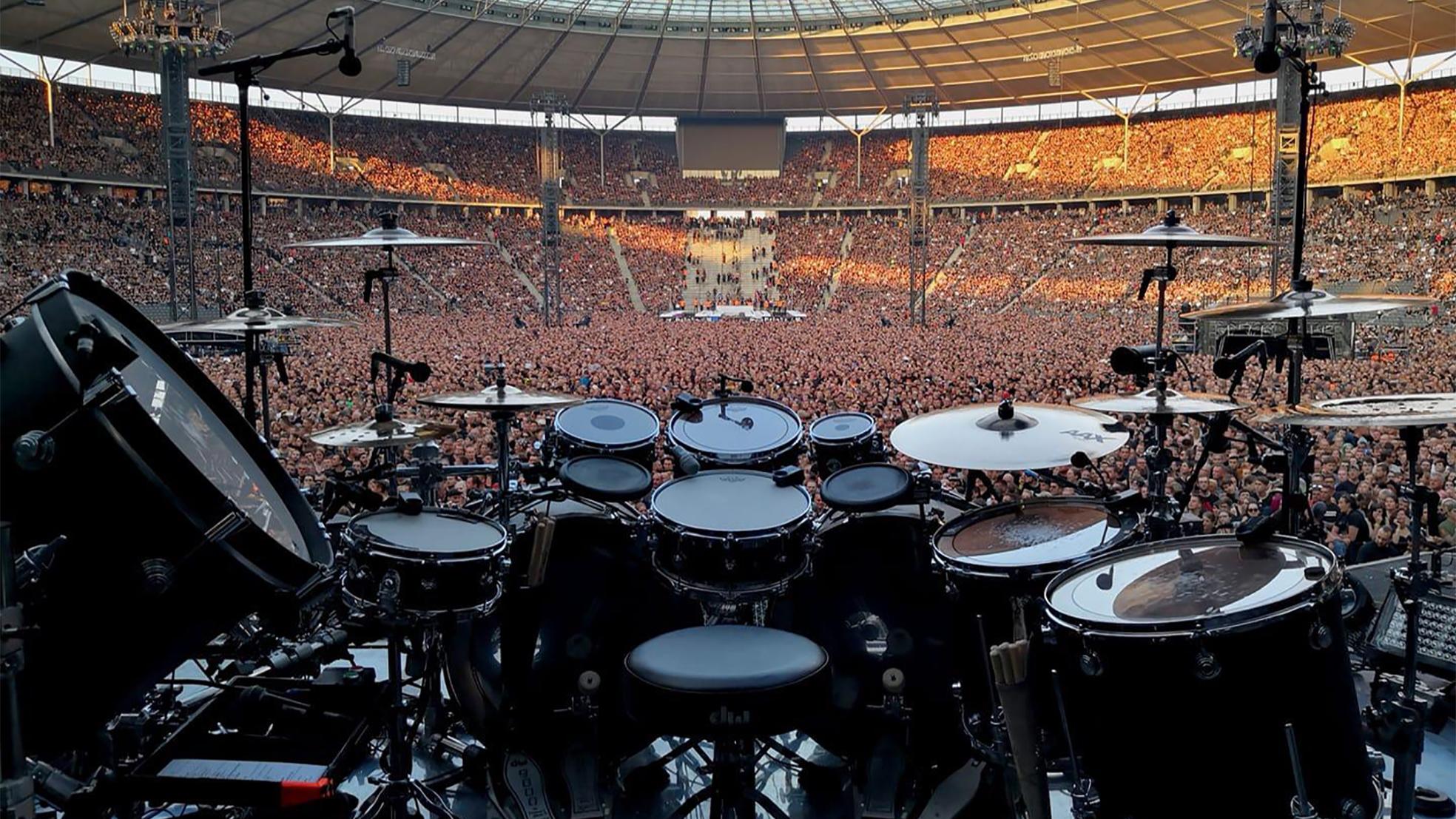 Rammstein Joost drumstel kuip