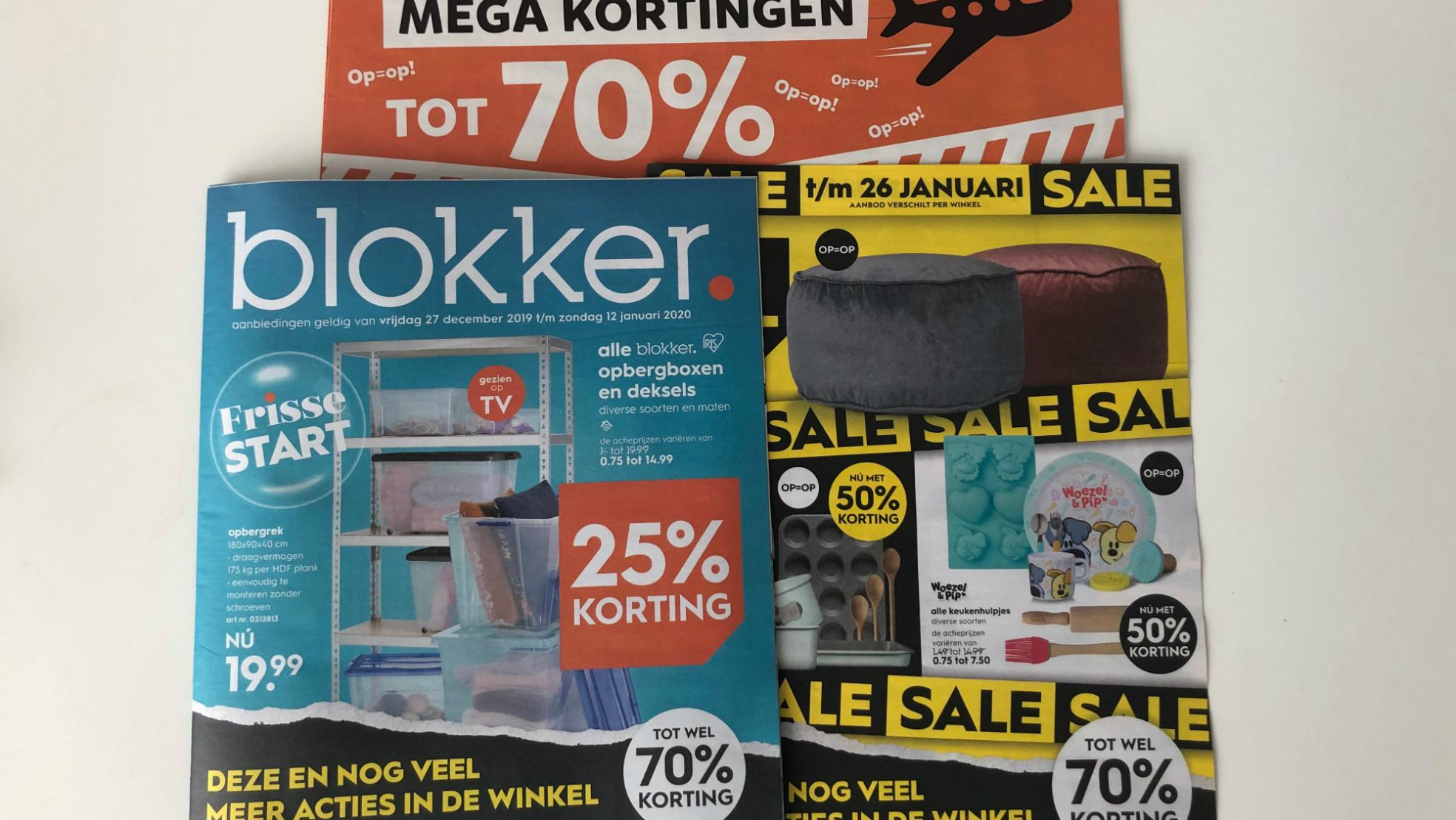 Reclamefolders Blokker Intertoys