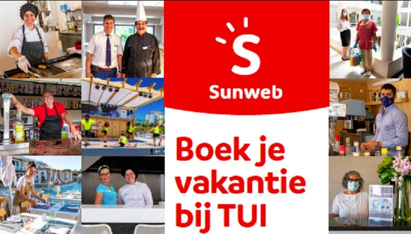 TUI sunweb corona washing marketing