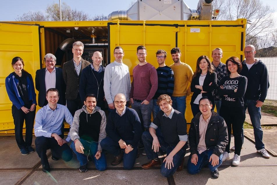 Team energiebedrijf Elestor