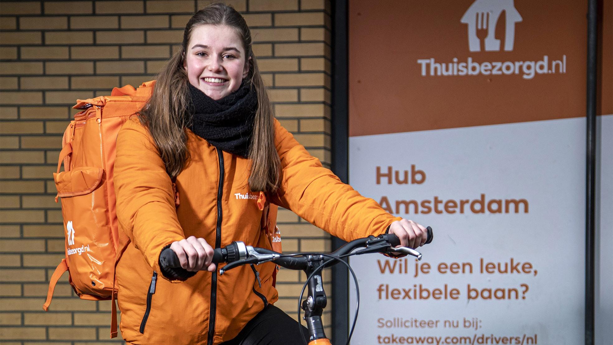 Thuisbezorgd Tessa Amsterdam