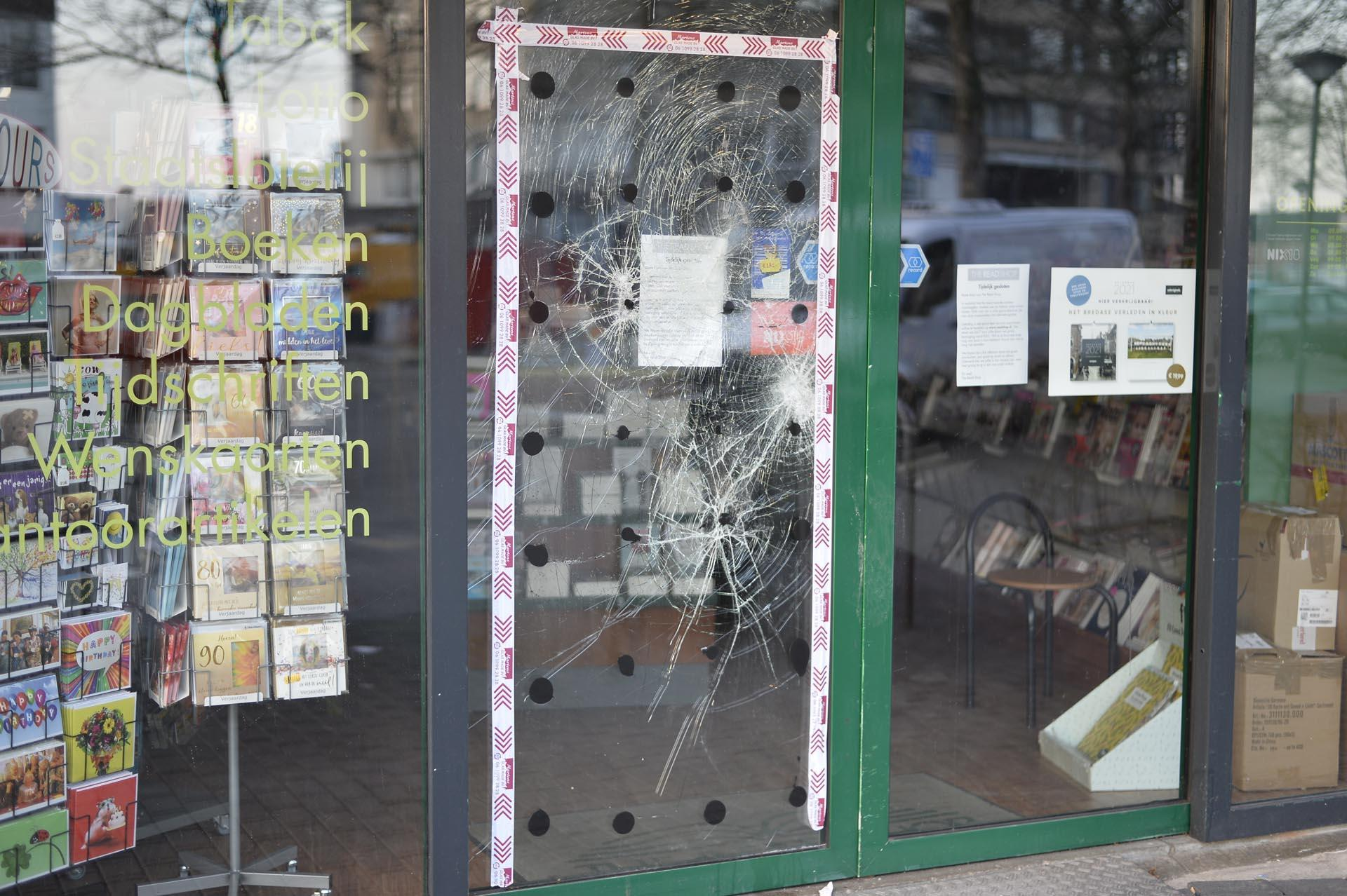 Tuinzigt Breda rellen corona avondklok The Read Shop