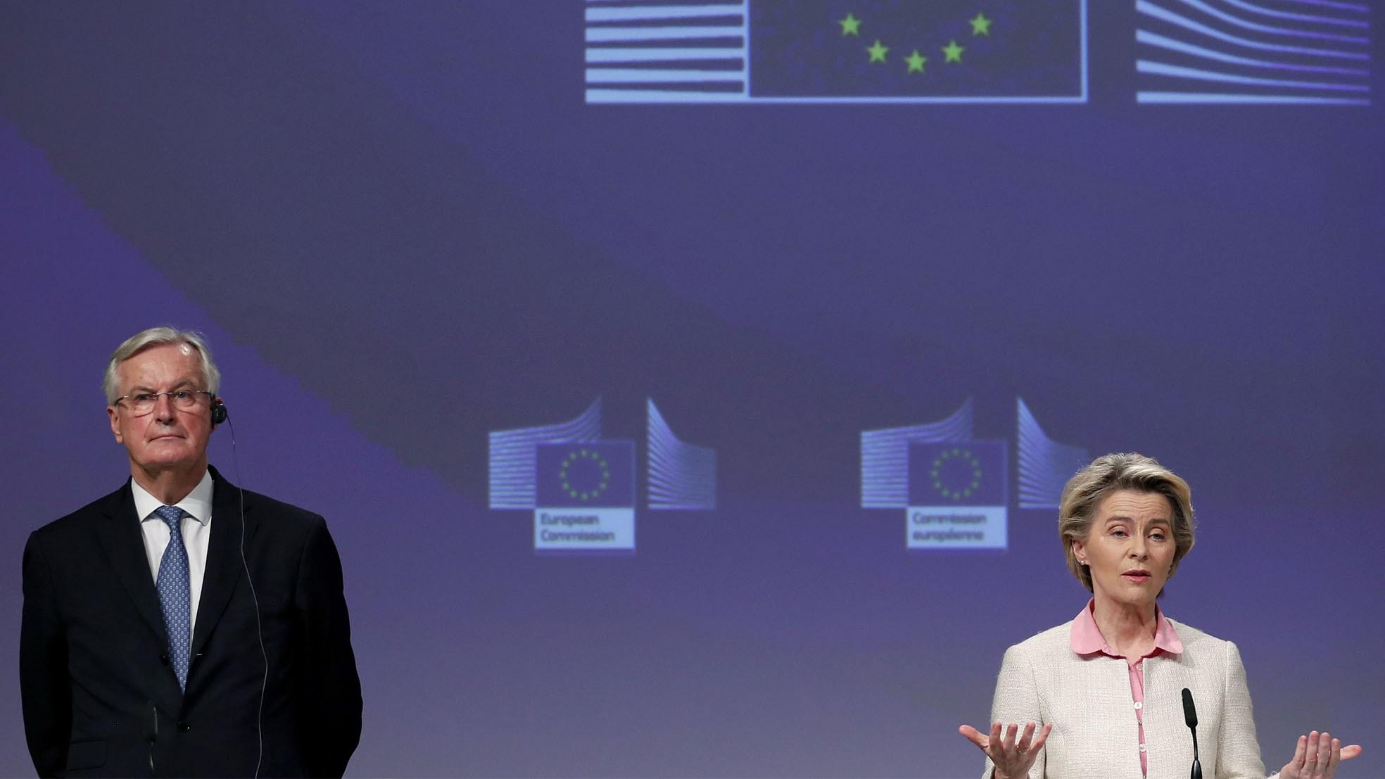Ursula Michel Brexit akkoord deal