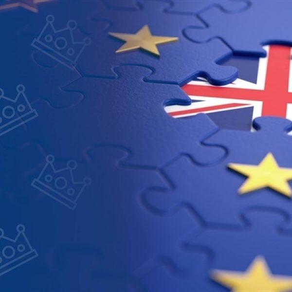Brexit europa engeland landkaart vlag