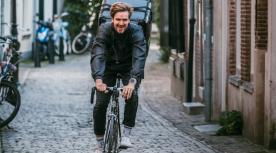 Packaly bezorging winkels fietskoeriers interview