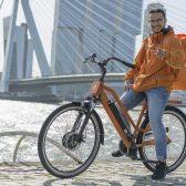 Thuisbezorgd jongen fiets Rotterdam