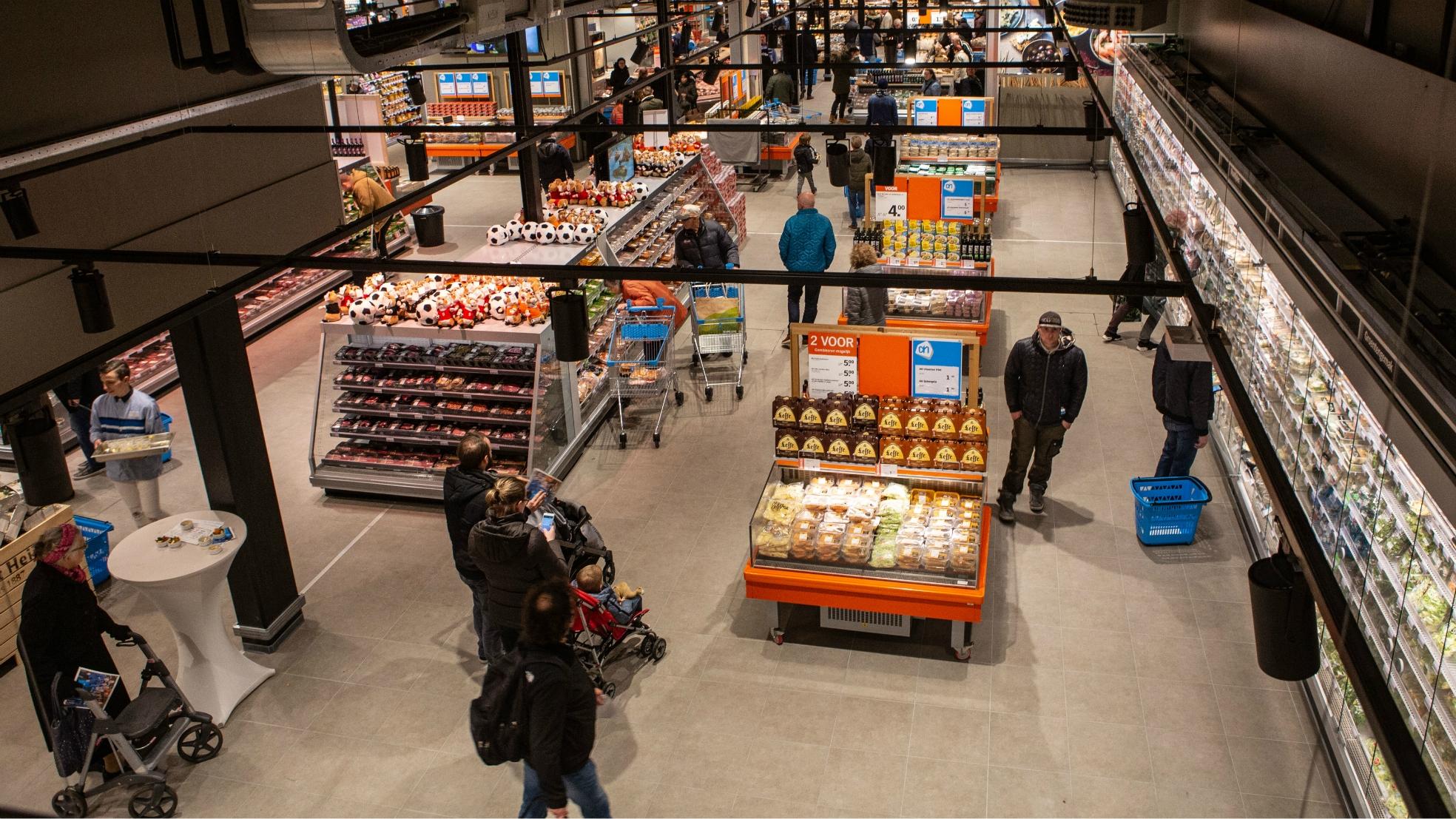 Albertheijn koogaandezaan supermarkt binnen mooiste 2019