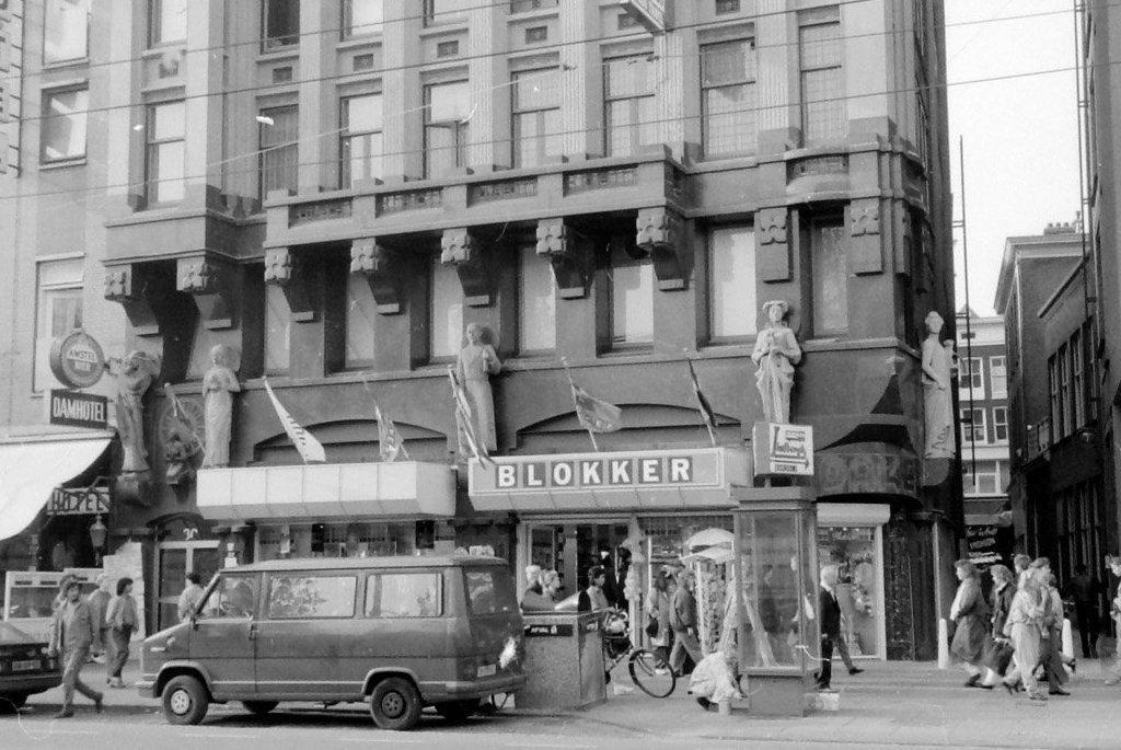 Blokker ondernemer 1989 amsterdam stadsarchief