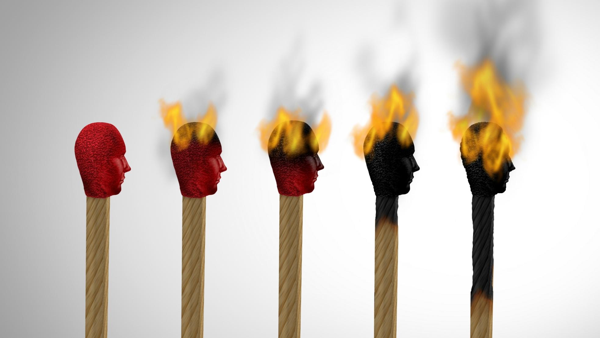 Burnout overspannen lucifers 2