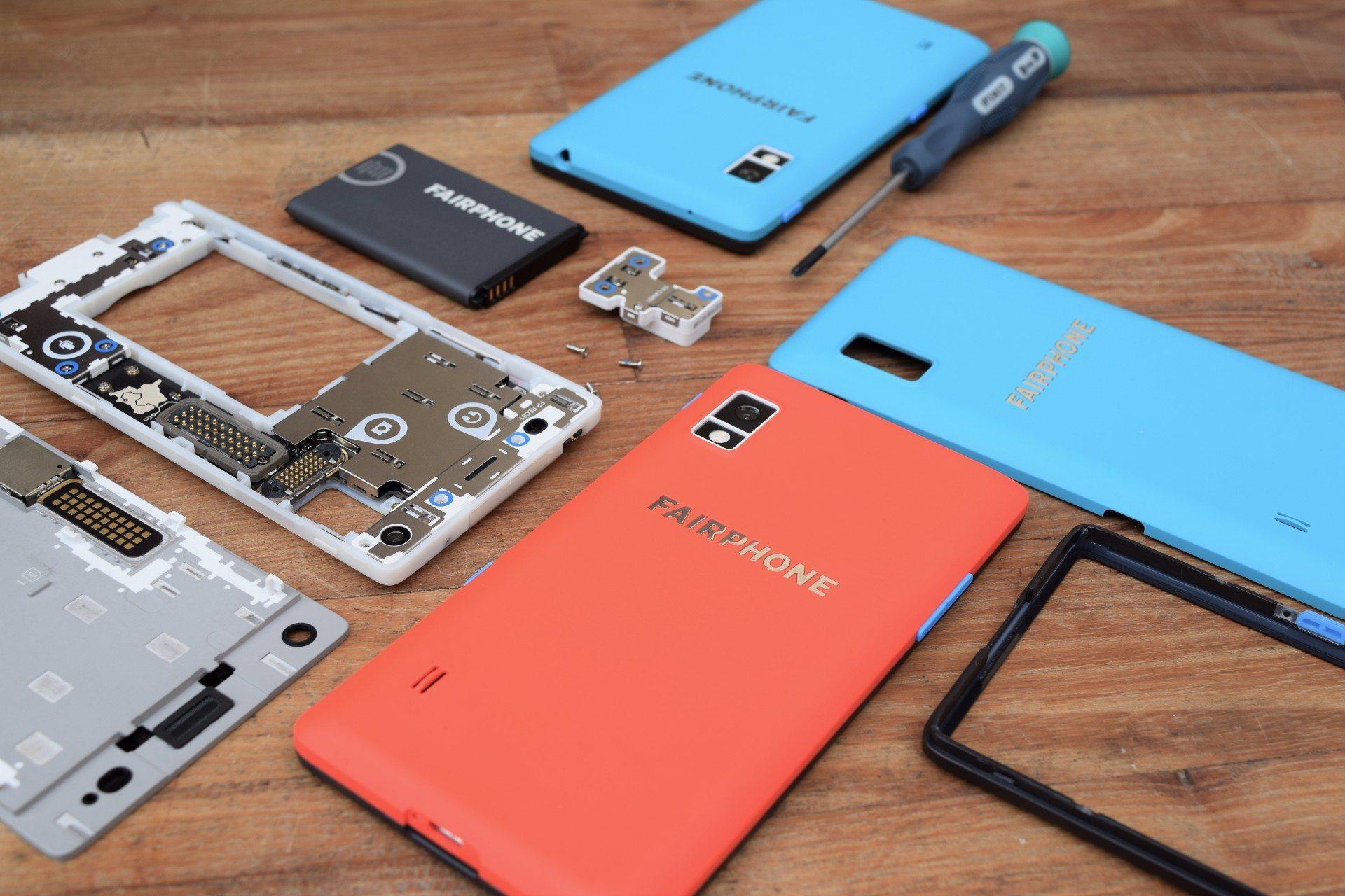 Fairphone onderdelen
