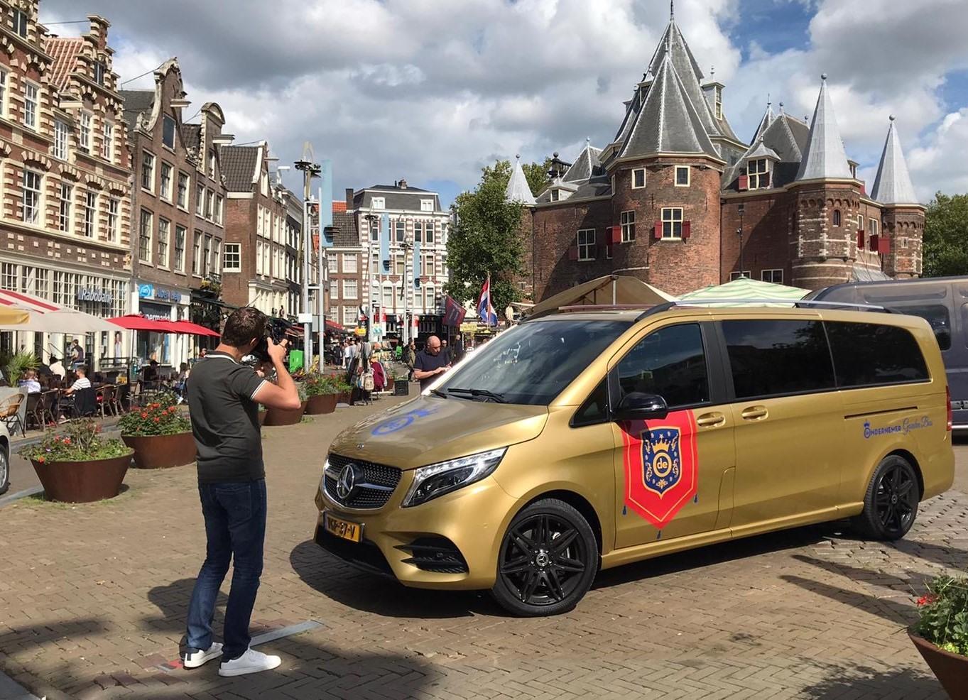 Gouden bus prinsjesdag