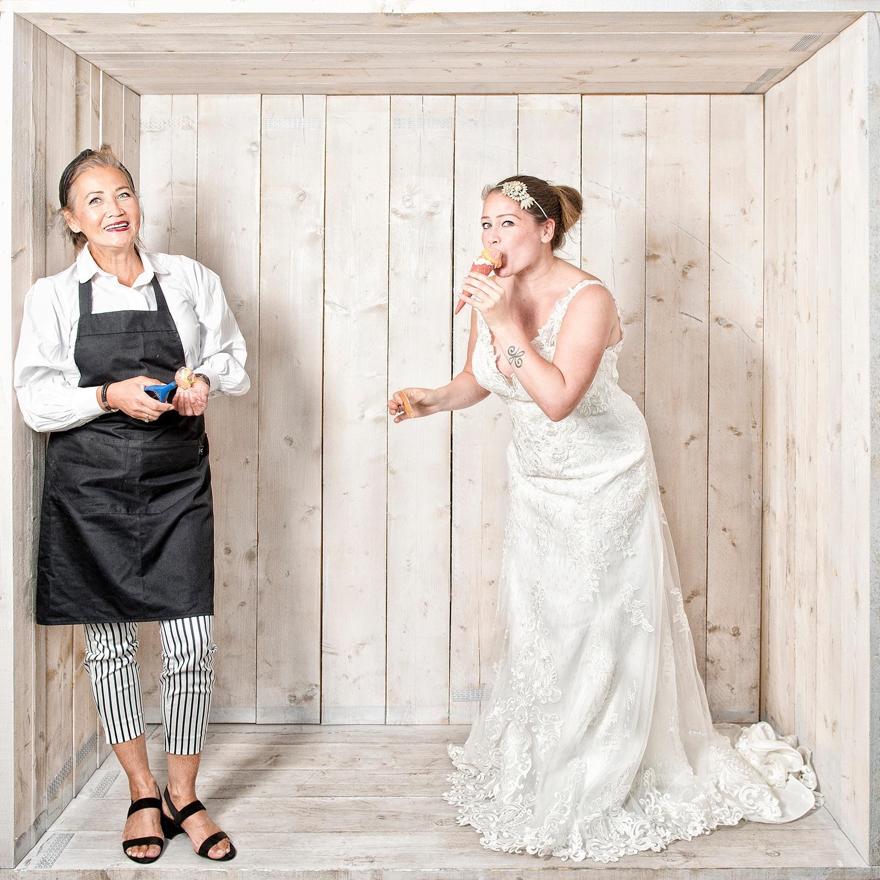 Hilly lefeber ondernemer bruidsmodezaak ijssalon