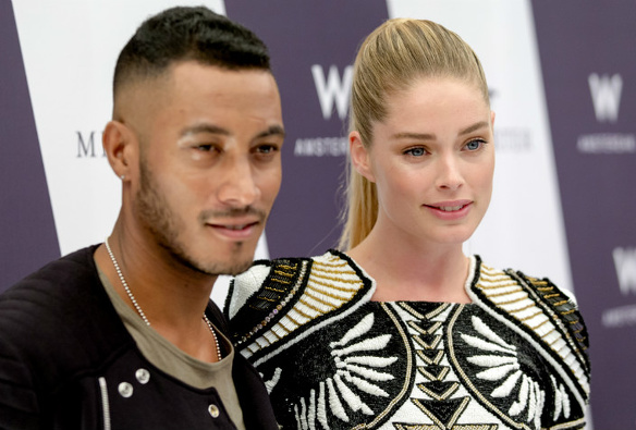 Sunnery James en Doutzen Kroes