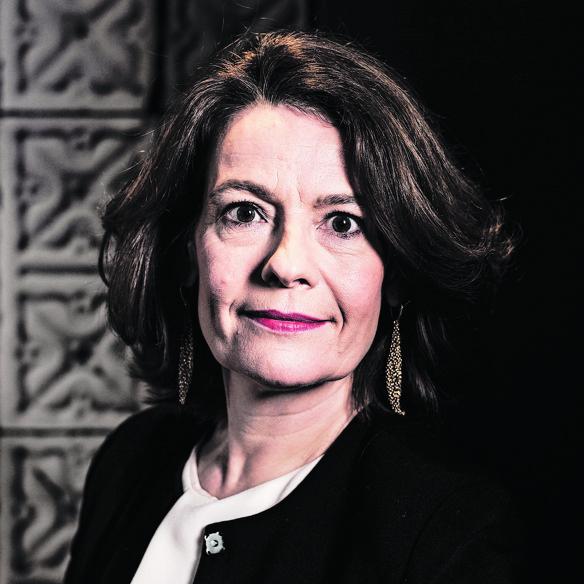 AFM voorzitter Merel van Vroonhoven