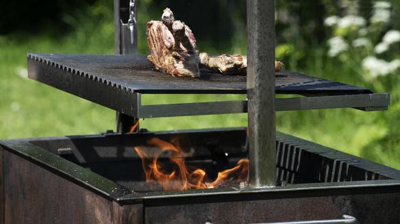 Caveman Grill barbecue Piet Hein Smit 1