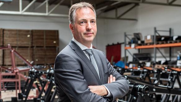 Directeur eigenaar Larsvander Hoorn Brainport Assembly Simon Lenskens