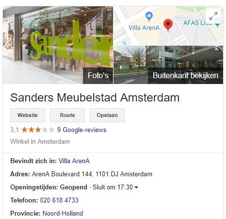 Google Mijn Bedrijf Google Mijn Bedrijf lokaal zoeken zoekresultaat 5