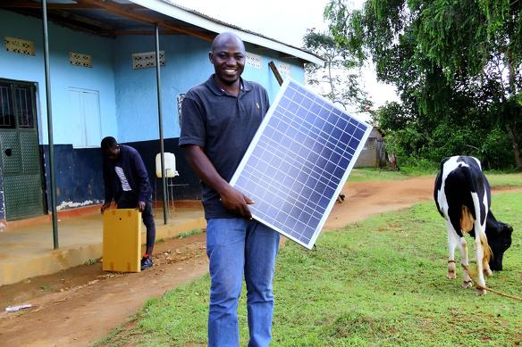Rural Spark Uganda Solar Panel