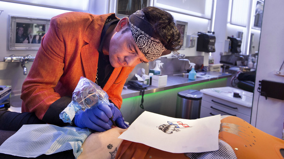 Tattoo Bob Jan de Groen 3