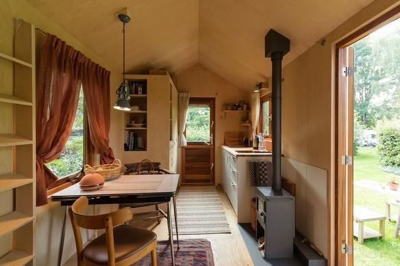 Tiny House inside Berrie van Helden