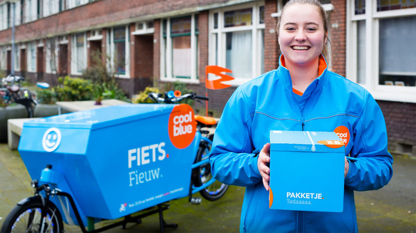 Coolblue bezorgdienst fiets