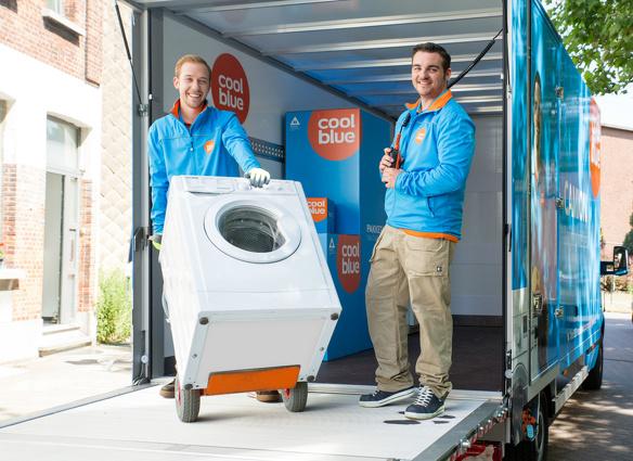 Coolblue wasmachine bezorgen thuis